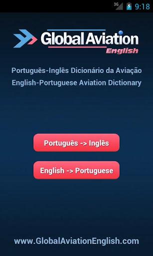 Aviation English Portuguese