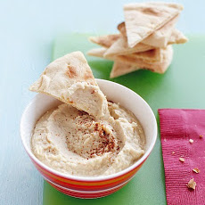 White-Bean Dip with Toasted Pita Chips
