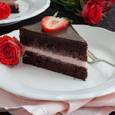 Gluten Free Chocolate Strawberry Ice Cream Cake