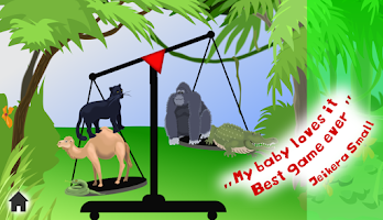 Screenshot of Fun Animal Weigh Free Kid Game