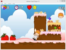 Screenshot of Jumping Valentine