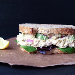 'Chickpea of the Sea' Salad Sandwich