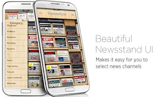 Screenshot of NewsAce - RSS News stand