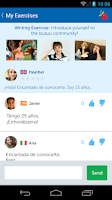 Screenshot of Learn Languages Free - busuu