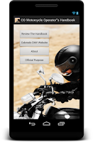 Screenshot of Colorado Motorcycle Handbook