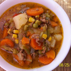 Christine's Hamburger Soup