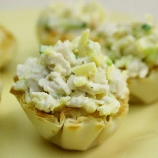 Chicken Salad In Delicate Tartlets