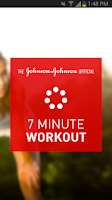 Screenshot of Johnson & Johnson 7 Minute
