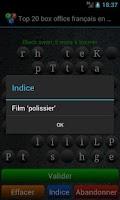 Screenshot of Qizzle pack cinéma