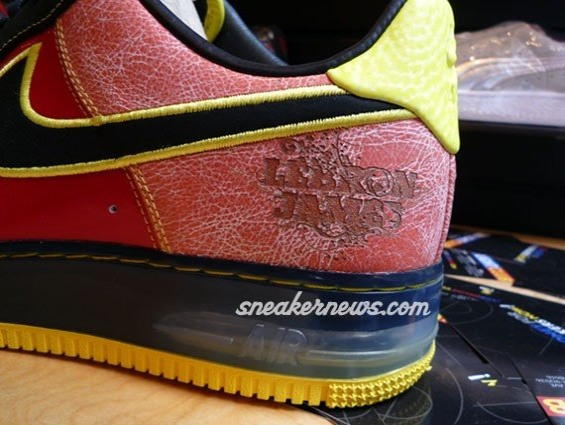 Saturday Night Live Nike Air Force 1 LeBron James PE