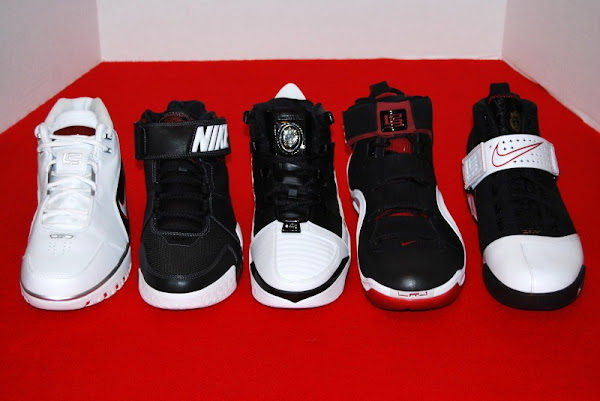 The Evolution of the Nike Zoom LeBron Signature Shoes