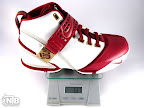 lebron5 white red home gram Weightionary