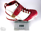 lebron5 white red home ounce Weightionary