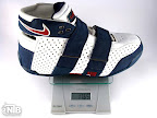 lebrons 20 5 5 white navy ounce Weightionary