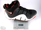 lebron4 black white red gram Weightionary