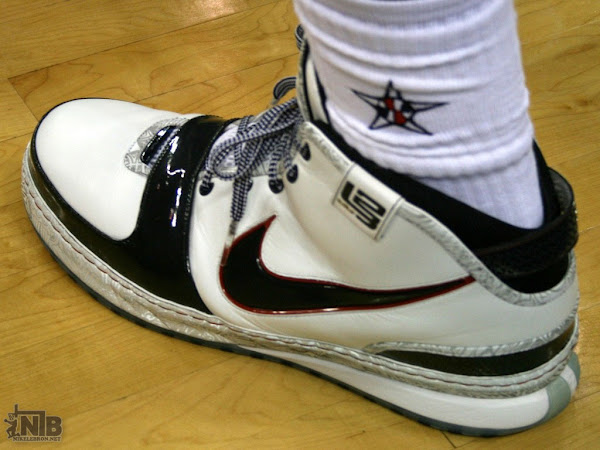 Closer Look at the Nike Zoom LeBron 6 8220United We Rise8221 Olympic PE
