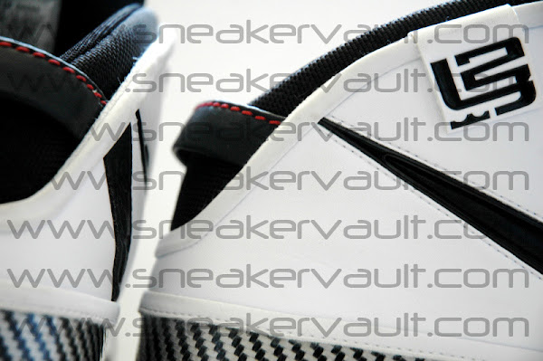 BlackWhiteRed Nike Zoom LeBron VI Pics Leaked to the Net