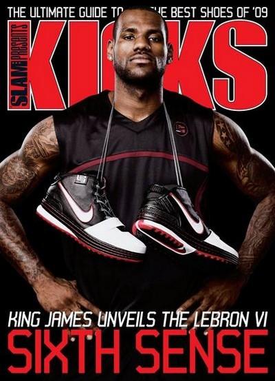 Introducing the Sixth Sense 8211 LeBron on the Kicks Cover with Nike Zoom LeBron VI