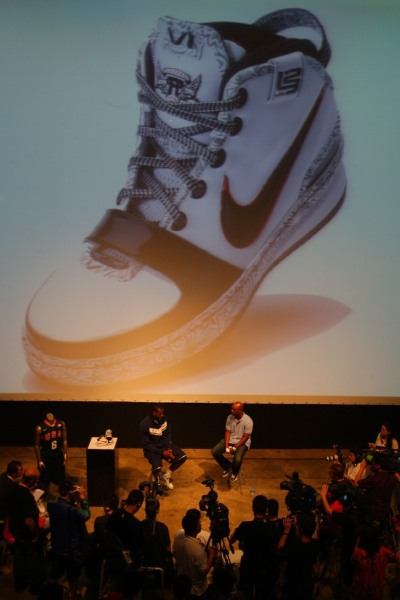 King James Unveils the Nike Zoom LeBron VI in Beijing