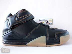 lbj2 pe brown gum2 02 Two Versions of Rare Gum Nike Zoom LeBron II PE