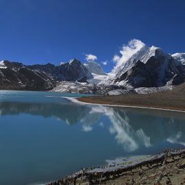 Gurudongmar Lake by Ashim Karmakar - Landscapes Travel