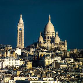 Sacré-Cœur, Paris by Nesrine el Khatib - Buildings & Architecture Public & Historical ( paris, sacré-cœur,  )