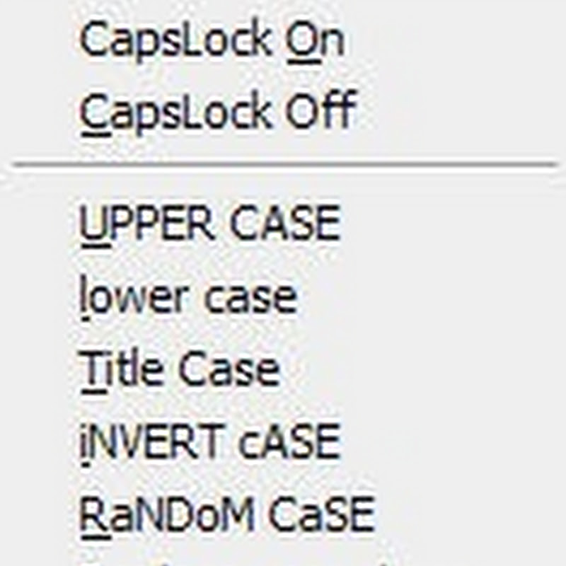 Put the CapsLock key to better use with CAPshift