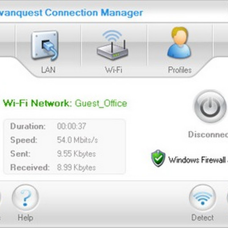 Avanquest Connection Manager - Quickly switch between different Net connections