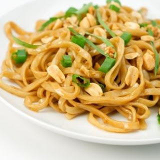 Easy Peanut and Sesame Noodles