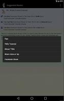 Screenshot of TWiz:WDW Transportation Wizard