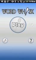 Screenshot of Word Whisk