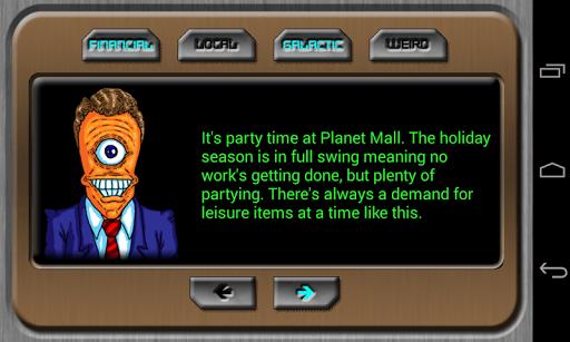Space Trading Profiteer - screenshot