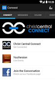Screenshot of Christ Central Connect