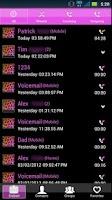 Screenshot of GO Contacts Pretty Cheetah