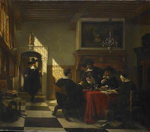 RIJKS: Johannes Stroebel: painting 1873