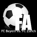 Football A.FC Bayern vs Zürich icon