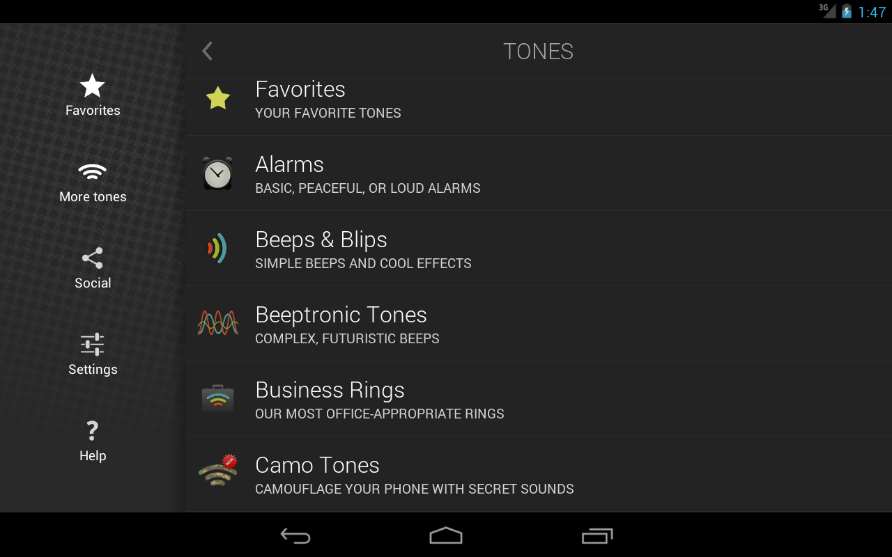 Ringtones Complete Screenshot 9