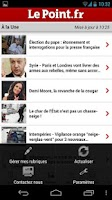 Screenshot of Le Point