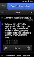Screenshot of ListNote
