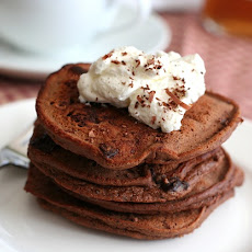 Chocolate Chocolate Chip Pancakes – Low Carb and Gluten-Free