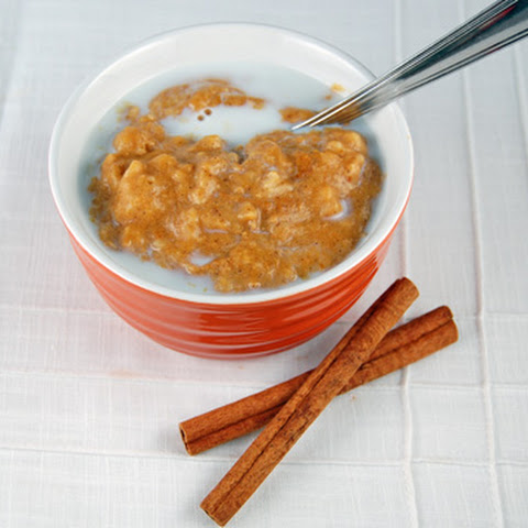Pumpkin Spice Oatmeal in the Slow Cooker