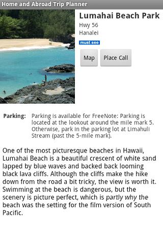 Maui Vacation Planner