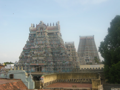 Sri Ranganathaswamy temple, Trichy, first enclosure