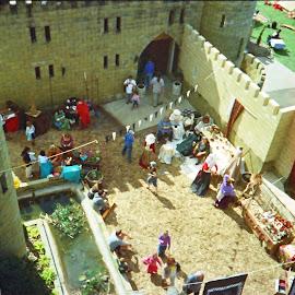 Bli Bli Castle by James Menteith - City,  Street & Park  Markets & Shops ( park, shops, markets, street, castle, photography, city )