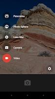 Screenshot of Google Camera
