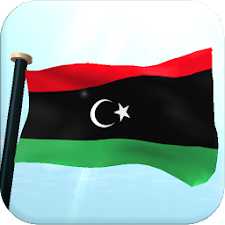 Libya Flag 3D Live Wallpaper
