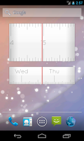 Screenshot of Linear Clock Free Widget