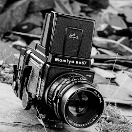 Mamiya Alone by Jason Eaton - Artistic Objects Antiques ( film, technology, mamiya, camera, outdoors, medium format, old school, pictures, antique, lens, photography )