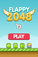 Screenshot of Flappy 2048 - Endless Combat