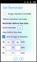 Screenshot of Organisemee for Phone Lite